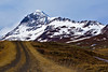 the lonely road (MW // Photography) Tags: iceland landscape nature lonely way mountain snow road travel