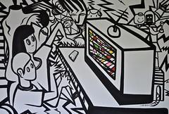 News (MATLAKAS) Tags: contemporaryart painting londonartsaatchi matlakas streetart canvas bnw blackandwhite design fine art acrylic fineart
