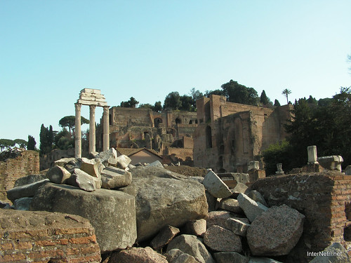 Римський форум, Рим, Італія InterNetri Italy 528