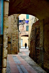 The priest passes through Albenga/Liguria (paaddor) Tags: lifestyle landscape beautiful city travelattraction awesome traveling photography travelphotography adventures lovely photo happy nikond3400 cute explore worldplaces buildings travellingthroughtheworld wonderful cool travel people