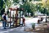 Happy Bench Monday (Omunene) Tags: bench benchmonday budapest margaretisland margitsziget telephonebooth publictelephone hungary