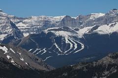 Who's who from Hunchback hills. (davebloggs007) Tags: hunchback hills view kananaskis alberta canada 2018 nakiska ski hill 1988 winter olympics