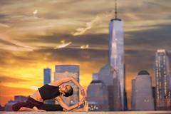Yoga by NYC (sdcph) Tags: yoga new york nyc manhattan mindfulness meditation sunset nj