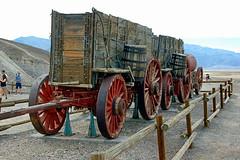 Twenty Mule Team Wagon at Harmony Borax Works (EmperorNorton47) Tags: deathvalleynationalpark california photo digital spring desert history historicalartifact wagon wheels nps worldheritagesite unesco mining borax
