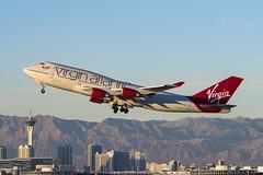 Hot Lips (dmeg180) Tags: plane airliner airport vegas mccarran virginatlantic 747 744 nevada hotlips nikon d500 boeing aircraft airplane