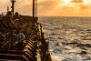 The Starboard Side (langdon10) Tags: atsea canon70d gulfofmexico laurentiadesgagnes navigation ship sun sunset tanker nautical ocean sunlight