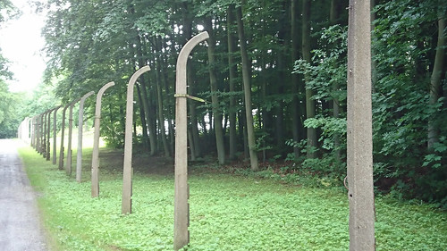 Buchenwald:  skeletal fences