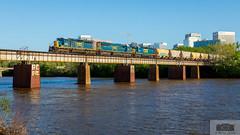 CSX F749-29 Rocketts 4082 (HeritageNY) Tags: csx emd train bridge james river richmond