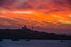 Lüderitz Sunset (Olmux82) Tags: lüderitz sunset namibia africa sun summer boat water sea calm red nikon landscape harbour paesaggio