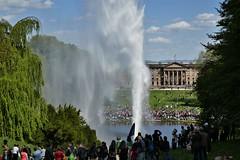 Watergame I (marcostetter) Tags: nature landscape wilhelmshöhe kassel unesco fountain pond