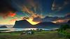 night light in midnight (steinliland) Tags: midnight midnightsun mountains arcticnature coastallandscape lofotenisland norway arcticsummer