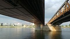 Bridges, downside, Budapest (Ormio) Tags: budapest bridge danube duna rákóczihíd lg5 fino