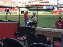Andy's Birthday at GAPB (primemover88) Tags: mlb cincinnati reds great american ball park baseball shannon ford fox sports ohio