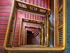 Hamburg - Up and down the stairs (Karsten Gieselmann) Tags: 1240mmf28 deutschland em5markii germany hamburg kontorhausstubbenhuk mzuiko microfourthirds olympus rot treppe kgiesel m43 mft red staircase stairs