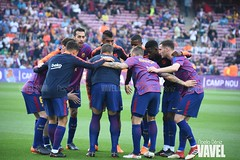 DSC_0809 (VAVEL España (www.vavel.com)) Tags: fcb barcelona barça blaugrana culé azulgrana villarreal submarino amarillo liga campeones pasillo iniesta fútbol primera