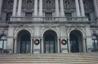 Washington DC - Library of Congress - Historic Building