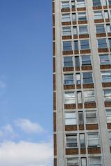 Camelford House (Gary Kinsman) Tags: london camelfordhouse se1 vauxhall canonrebelxt canon350d canon1855mm architecture urbanlandscape modernism modernist albertembankment office officeblock 2007 urban lookingup