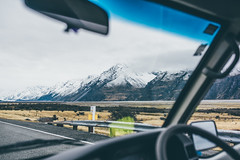 Mount Cook (bruit_silencieux) Tags: mount cook hooker valley mountains snow road roadtrip sonya7 sigma35mm14art newzealand
