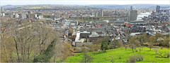 Liège vue de la Citadelle, Belgium (claude lina) Tags: claudelina liège belgium belgique belgië landscape meuse