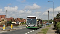 YG52 DGO, Ipswich Buses Optare Excel 170, Felixstowe Road, 11th. May 2018. (Crewcastrian) Tags: ipswich buses ipswichbuses transport felixstoweroad optareexcel yg52dgo 170 kingjohn