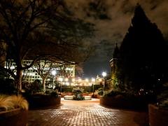 night run (ekelly80) Tags: dc washingtondc february2018 nationalmall run evening night lights smithsonian courtyard glow