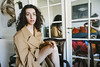 paris in may (d_downtown) Tags: paris europe travel vsco fujifilm france parisienne hotel girl brunette jewish curly trenchcoat coat beige