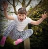 Rahhhhh! (Jacko 999) Tags: fun girl happy trampoline hop farm canon eos 5d mark iii 90mm ƒ56 900mm 11000 robert kent eede jump jumping