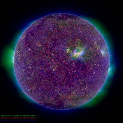 A Sunny Day (NASA's Marshall Space Flight Center) Tags: nasa nasas marshall space flight center goddard gsfc solar system dynamics observatory sdo sun heliophysics