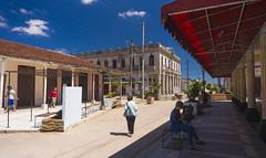 Camajuani - 1 - City Center - Pedestrian Boulevard (lezumbalaberenjena) Tags: camajuani camajuaní villas villa clara cuba cuban ciudad city 2018 lezumbalaberenjena centro center