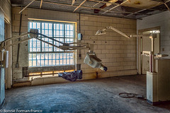 20171120_LANCASTER and WV_20171120-BFF_4999WV Penitentiary_HDR (Bonnie Forman-Franco) Tags: penitentiary dental dentalxray dentaltreatmentroom dentalequipment abandoned abandonedphotography abandonedprison abandonedpenitentiary abandoneddentalequipment photography photoladybon bonnie photographybywomen prison imprisoned hdr westvirginia westvirginiapenitentiary westvirginiaprison