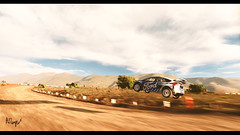 Joy (at1503) Tags: rallycar rallying dirt rural mountains sky clouds orange white blue speed wheels car ford focus fordfocus trees nature joy jump vast warmtones granturismo granturismosport digitalmotorsport digitalphotography motorsport racing game gaming ps4