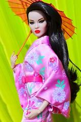 A-Z Challenge - J for Japan (Dolldiva67) Tags: fashionroyalty integritytoys ayuminakamura ayumipowerhouse nuface japan japanese geisha harajuku kimono maiko