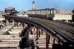CTA Stockyards 2107 Jeffrey Wein dupe (jsmatlak) Tags: chicago cta l elevated train electric railway subway metro stockyards