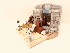 Rescue - 253rd Elite Legion Application (Jeklarr) Tags: lego clone trooper star wars custom vignette moc