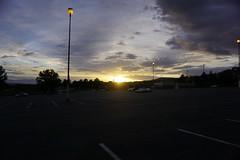 sunset and clouds (denebola2025) Tags: north ogden utah weber high parking lot cloud porn sunset