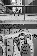 Gent Ketelvest Graffiti (marc.demeuleneire) Tags: selecteren bw street belgium gent nikon