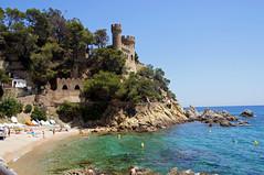 Lloret de Mar - Sant Joan (Guido Rabea) Tags: lloretdemar spanien sony a55v strand meer santjoan