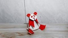熊猫 (guangxu233) Tags: origami origamiart paper art paperart paperfolding panda 折纸 折り紙 折り紙作品 noborumiyajima