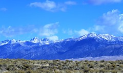 Spring in the Sangres (Patricia Henschen) Tags: greatsanddunesnationalpark nationalpark greatsanddunes sand sanddunes sangredecristo mountains mountain clouds sanluisvalley nps nationalparkservice spring alamosa colorado mosca