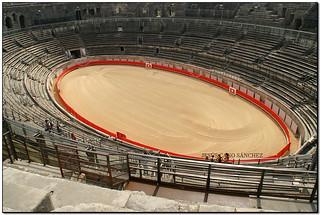 Amphithéâtre romain, Nîmes (Gard, France)
