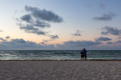 Couple (saebaryo) Tags: canoneos5dmarkiii canon 5d3 5diii beach ocean sea sand surf sky clouds canon2470mmf28l 2470mm