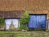 The old barn (glessew) Tags: schuur barn shed koksijde vlaanderen westvlaanderen westhoek door deur tür porte belgië belgique