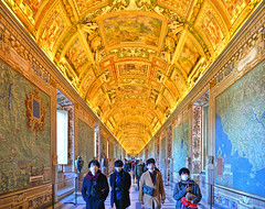 vatican museum (poludziber1) Tags: street streetphotography rome italia italy vatican people yellow city colorful color capital
