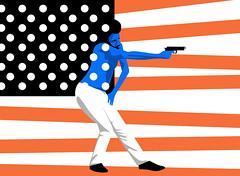 """This is America"" - Childish Gambino (Philippe Nicolas) Tags: dark critic illustration editorial childish gambino thisisamerica donaldglover atlanta carnage chaos illustrative ultraviolent quavo sherriesilver arthurjafa"