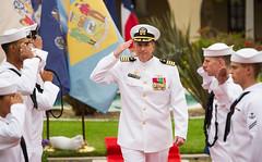180511-N-AC254-154 (U.S. Pacific Fleet) Tags: ussamerica lha6 amphibiousassaultship sailors people usnavy arg amaarg ama americaarg amphibiousreadygroup 3rdfleet sandiego changeofcommand phibronthree esg3 cpr3 commander amphibioussquadronphibron3 amphibioussquadron phibron3 navalairstationnorthisland