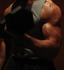 BIG  BULGING BICEPS (FLEX ROGERS) Tags: bicep biceps bodybuilding bodybuilder muscle muscles muscular massive arms flex flexing chest pecs big huge guns abs shoulders traps lats delts workout weights weightlifter ripped shredded exercise jacked