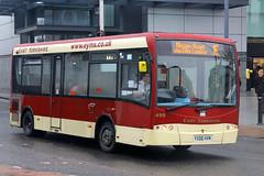 YX06 HVM, St Stephens, Hull, November 27th 2014 (Southsea_Matt) Tags: yx06hvm 499 route1e plaxton enterpriseplasma eb01 plaxtonpresiednt eyms eastyorkshiremotorservices unitedkingdom yorkshire hull england ststephens november 2014 autumn canon 60d sigma 1850mm bus omnibus transport
