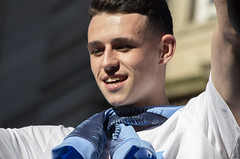 Phil Foden (Mike Serigrapher) Tags: manchester city champions parade 2018 phil foden