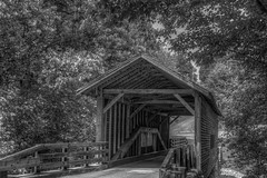 And Then You Walked Away (Mark R Warren) Tags: blackwhite tennessee gatlinburg america coveredbridge