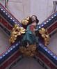 Ottery St. Mary, Devon, St. Mary's, lady chapel, vault, detail (groenling) Tags: otterystmary devon england britain greatbritain uk gb stmarys ladychapel vault rib keystone boss jesus majesty orb
